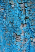 full frame of old blue wooden texture as backdrop