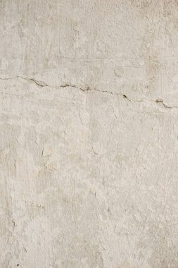 Close up of old light beige concrete wall stock vector