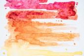 abstrakter Hintergrund mit farbenfrohen Aquarellstrichen