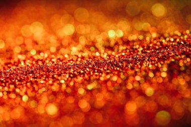 Abstract shiny background with red defocused glitter stock vector