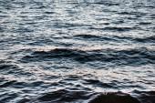 krásné přírodní pozadí s zvlněné moře