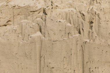 doğal bej çöl, üst görünümünde kum dokusuna