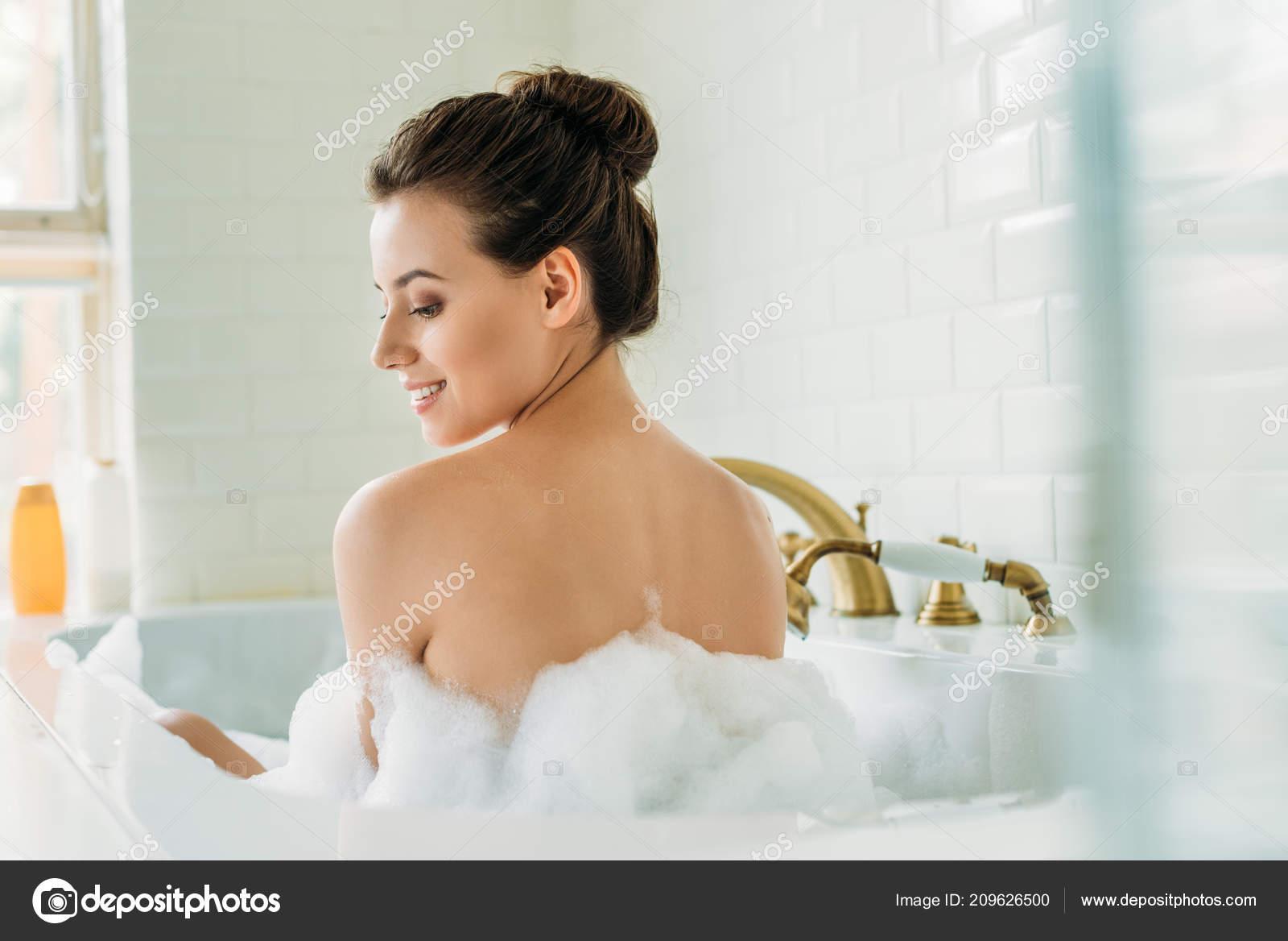 Think, Nude girl bath tub something is