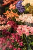 szép rózsa és a szegfű virág bolt