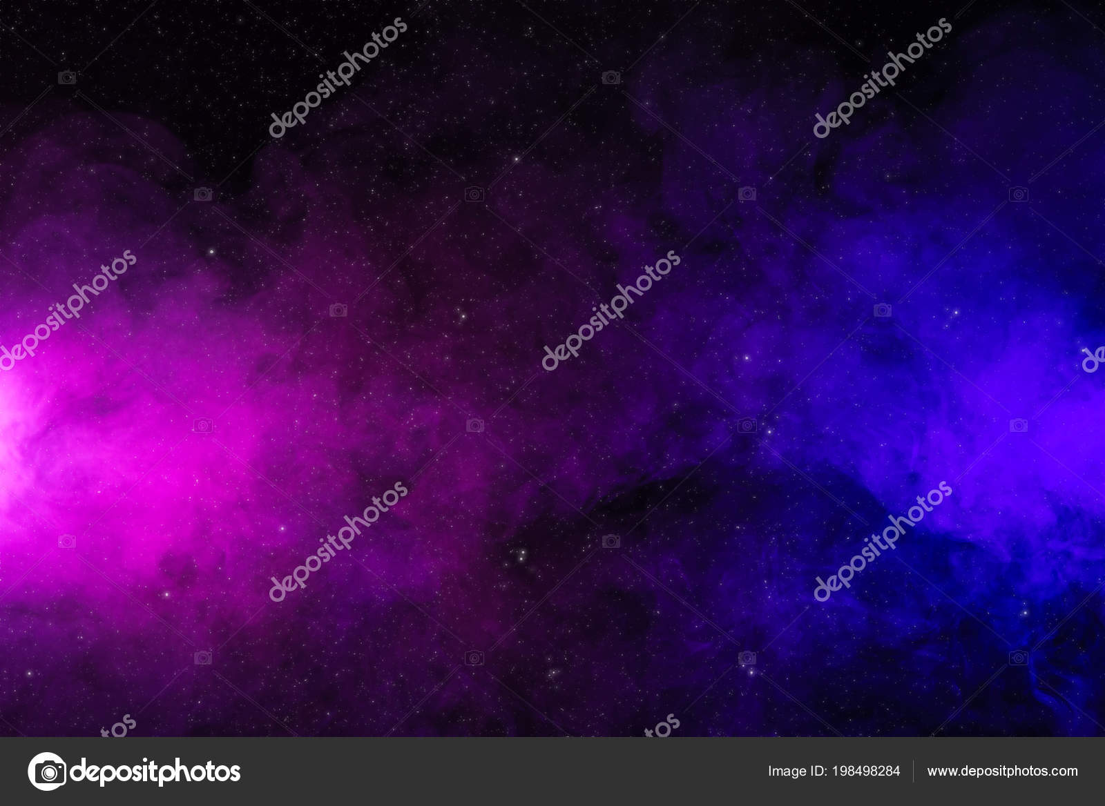 Background Black Pink Stars Abstract Pink Purple Smoke