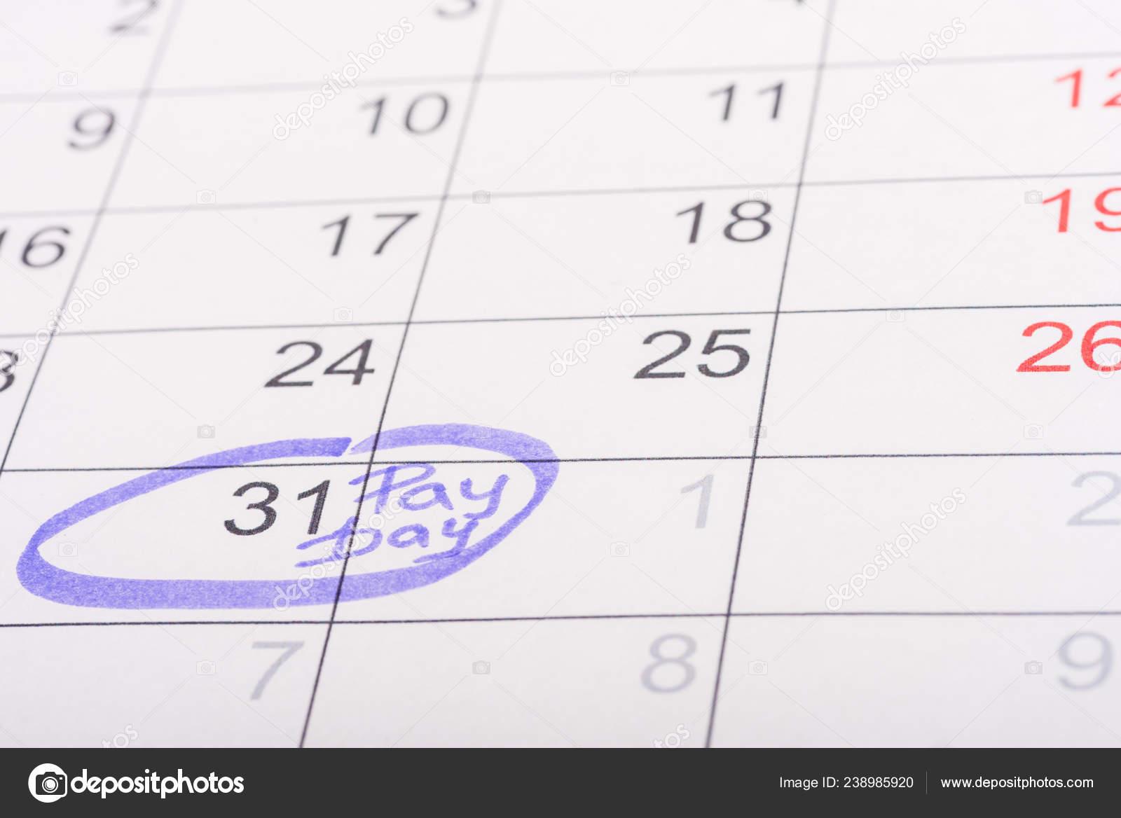 Calendario Con Numero Giorni.Fuoco Selettivo Del Calendario Con Profondo Numero Giorno