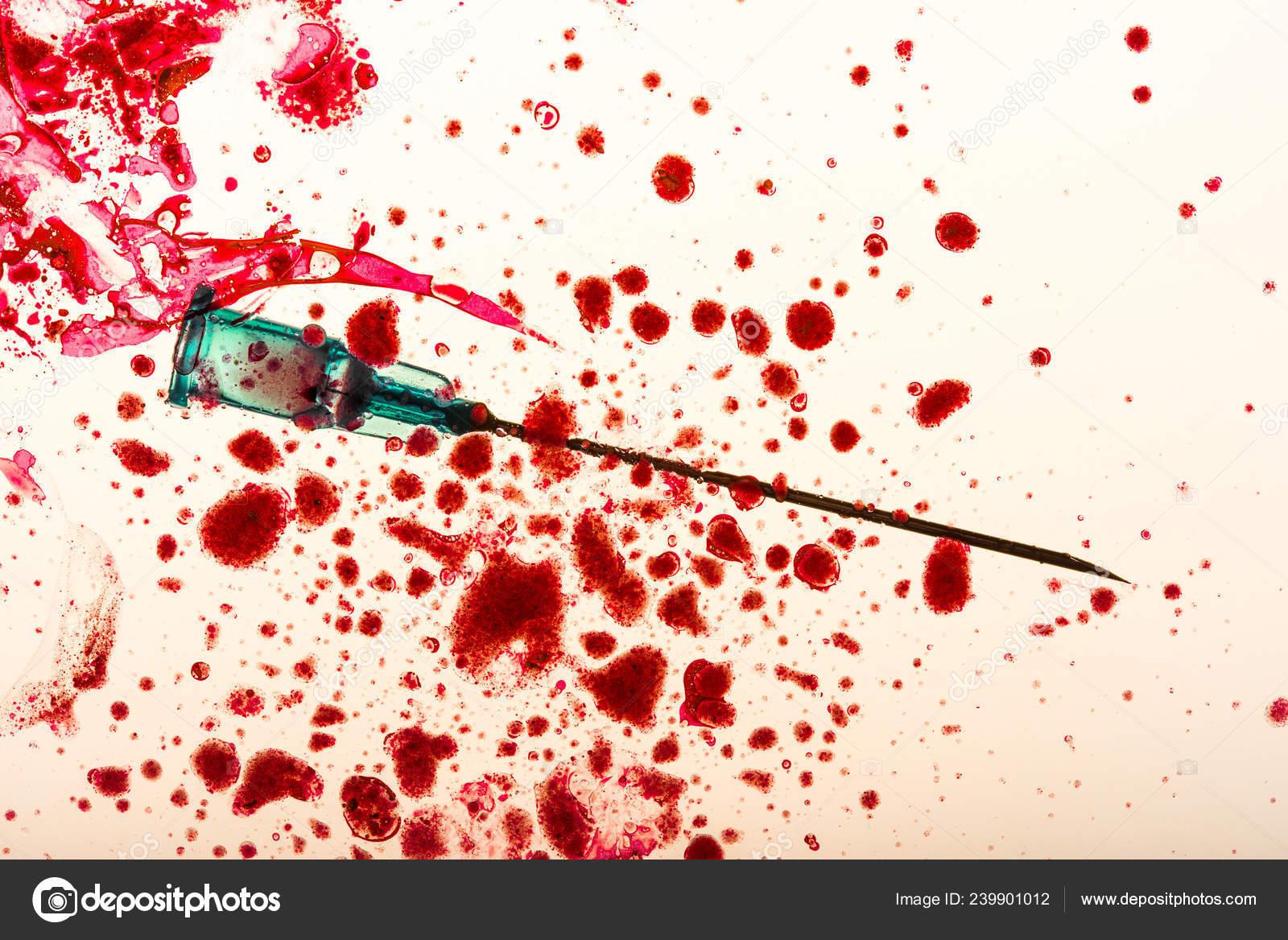 Игла с кровью картинки