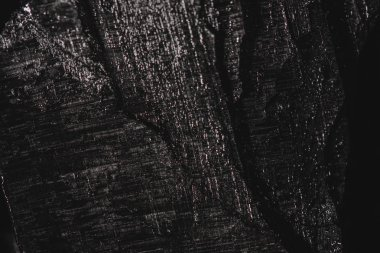 dark black background of textured charcoal with copy space