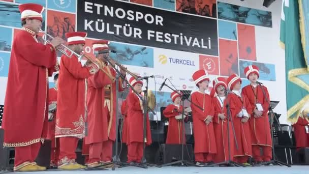 ISTANBUL,TURKEY - May 13, 2017: Traditional military fanfare