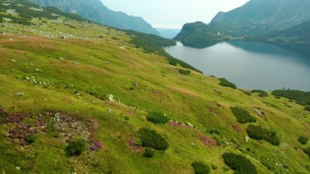 Údolí pěti jezer v pohoří Tatra, Polsko tento klip je k dispozici ve dvou různých odstuptech, 10bitová barva nebo DJI barevná Lút