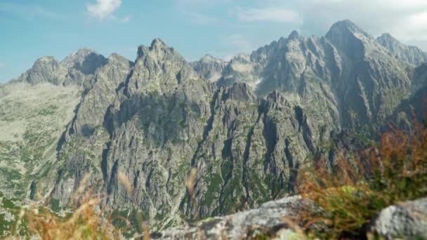 krásný výhled na Lomnica Peak v Tatra Mountains, Slovensko