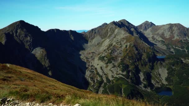 Pohled na vysoké hory v pohoří Tatra
