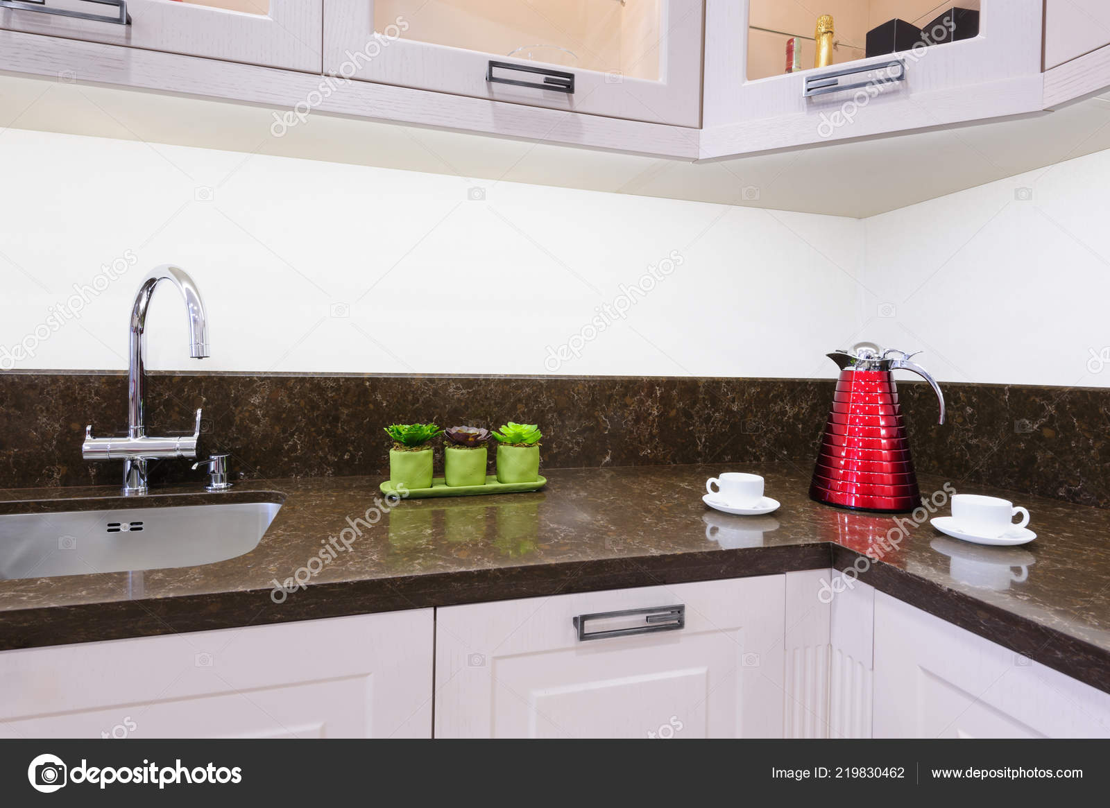 Modern Luxury Kitchen U2014 Stock Photo