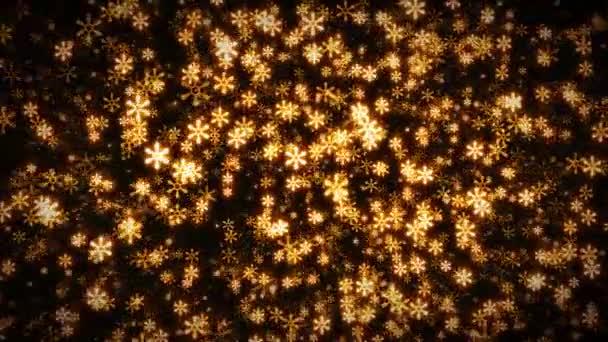 Bezešvá smyčka abstraktní květiny pozadí / abstraktní elegantní zářící barevné světlo květiny loopable pozadí