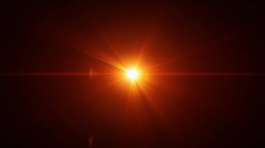 Optical Lens Flare Background