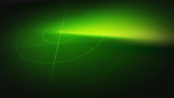 Radar And Sonar Scanner Technology Background Loop/4k animation of a radar or sonar military equipment background, with circular scanning fx seamless looping