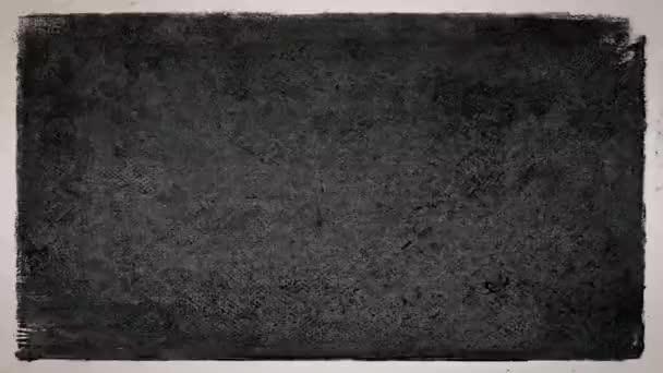 Grunge Stop Motion Frame texturált Loop / 4k animáció egy vintage mozgókép fekete-fehér grunge distressed frame textúra háttér zökkenőmentes hurkolás