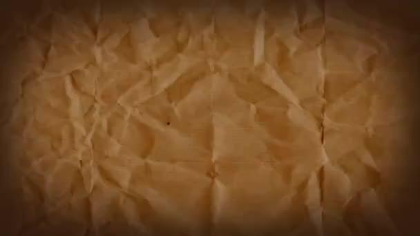 Abstraktní grunge Kraft papír s texturou na pozadí/4k animace starobylou filmové grafiky s grunge roztrhané papírové textury bezešvé smyčkové