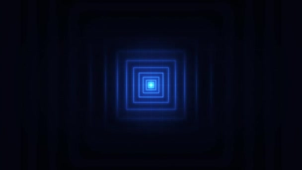 Absztrakt minimal Square stroke varrat nélküli loop/4k animáció egy absztrakt háttér kör stroke jel varrat nélküli hurkolás