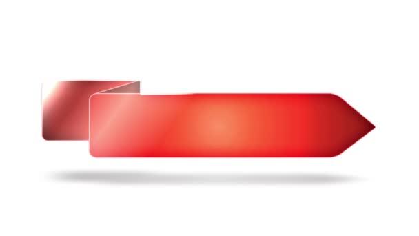 Úspěšné obchodní šipky a nápisy/4k animovaná sada barevných šipek pro úspěšné podnikání, pro reklamní zprávy a pro komunikaci na pozadí