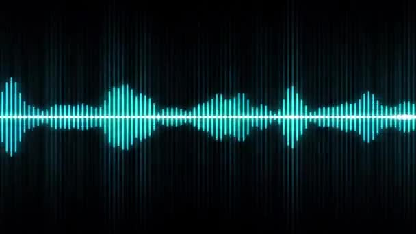 Absztrakt Zene Digitális Equalizer Háttér / 4k animáció absztrakt háttér többrétegű grafikus hang digitális lejátszó hullámforma