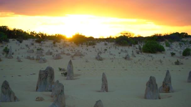 Pinnacles Desert Sunrise in Australia Perth