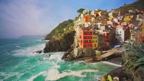 Riomaggiore Cinque Terre, La Spezia tartomány Liguria régió, Észak-Olaszország