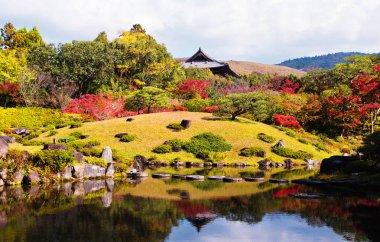 Isuien Garten in Nara, Japan
