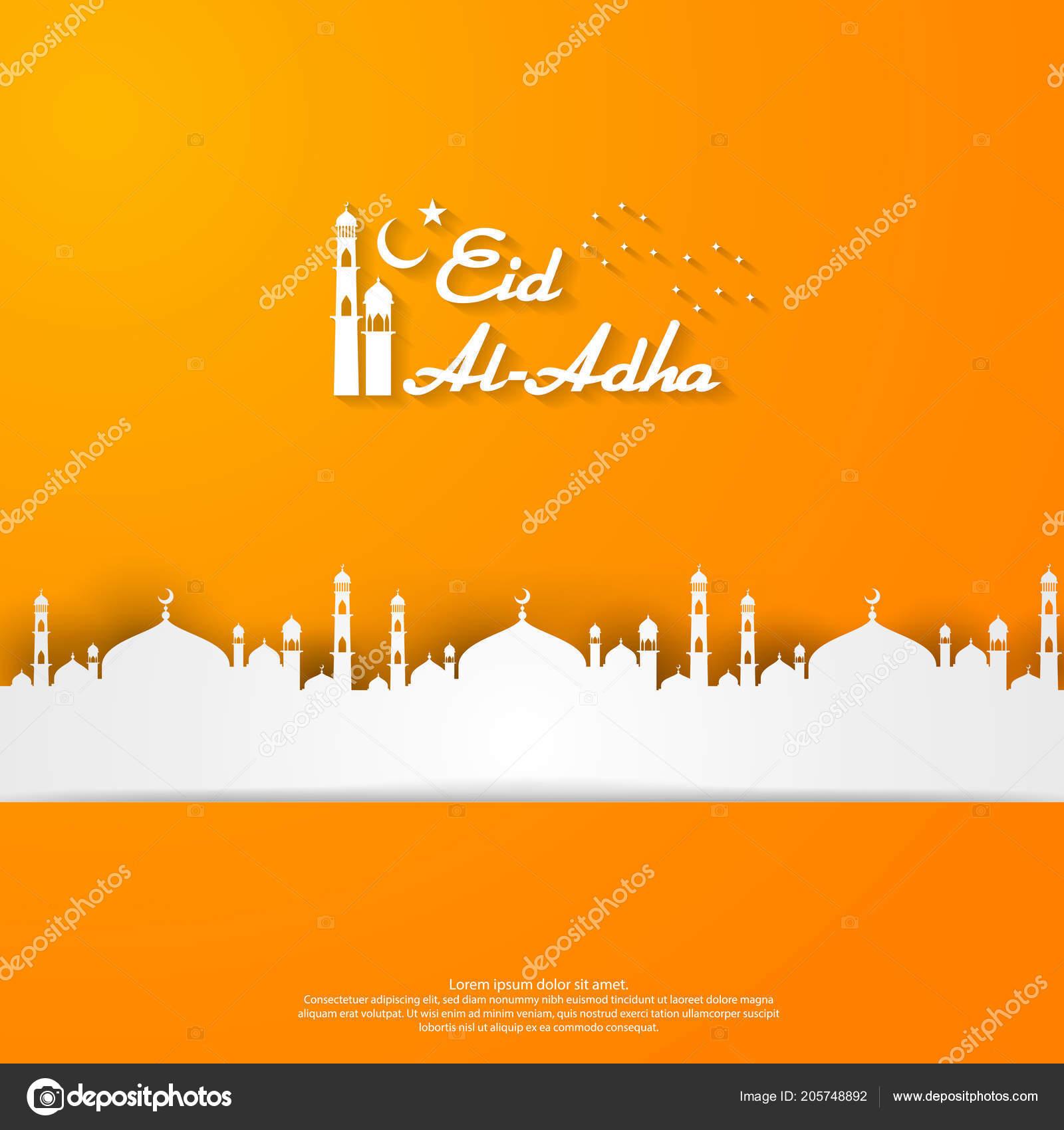 Eid adha mubarak islamic greeting card design dome mosque element eid adha mubarak islamic greeting card design dome mosque element stock vector m4hsunfo
