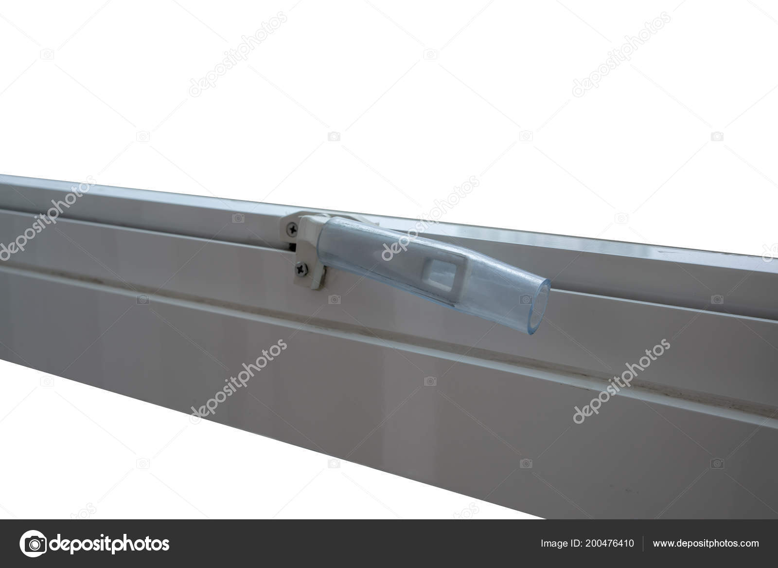 Glass Window Latch Handle Clear Plastic Protector — Stock