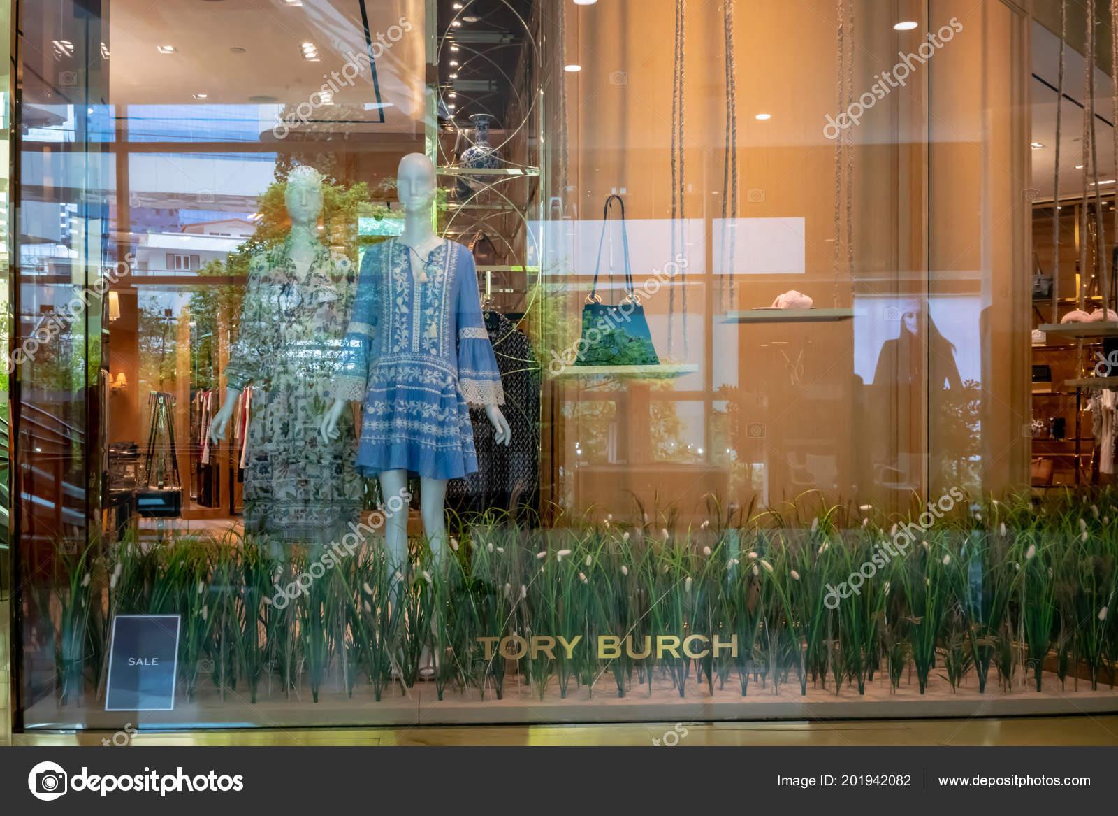 18636eda57de Tory Burch Shop Emquatier Bangkok Thailand June 2018 Luxury Fashionable —  Stock Photo