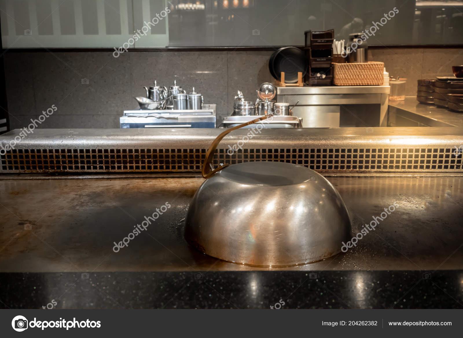 Chiuso Acciaio Inox Stile Giapponese Cucina Coperchio Cupola ...