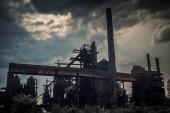 Průmyslová architektura železáren v dolní Vítkovice, Ostrava město, Česká republika, Evropa.