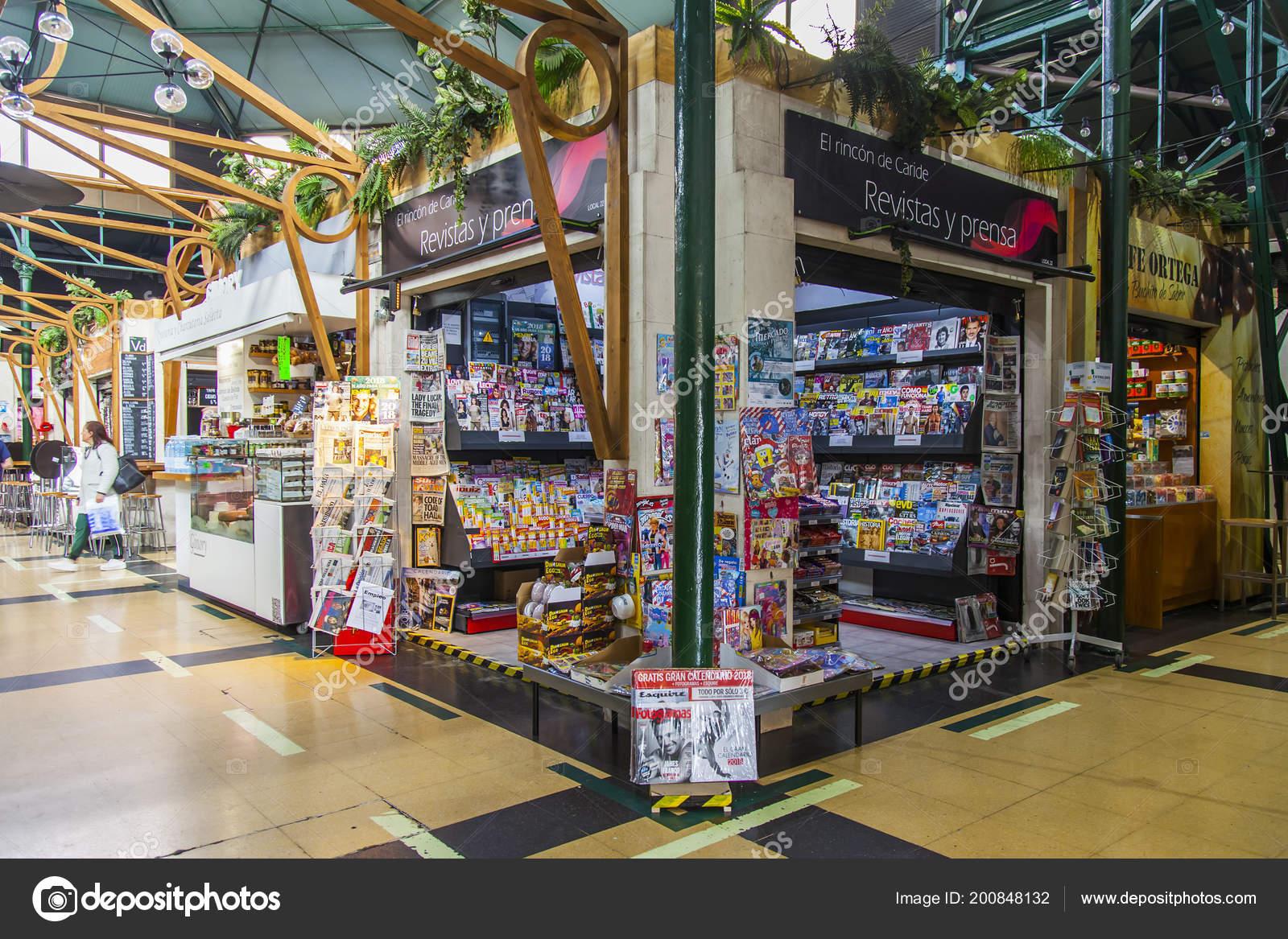 Calendario Palmas.Las Palmas Gran Canaria Spain January 2018 Stall Selling