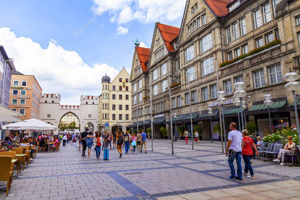 трудолюбие фото пешеходной зоны туристов в мюнхене танцы бубнами даже