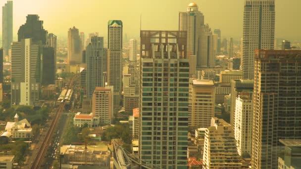 Polvere nellaria provoca inquinanti nella capitale., Bangkok, Thailandia