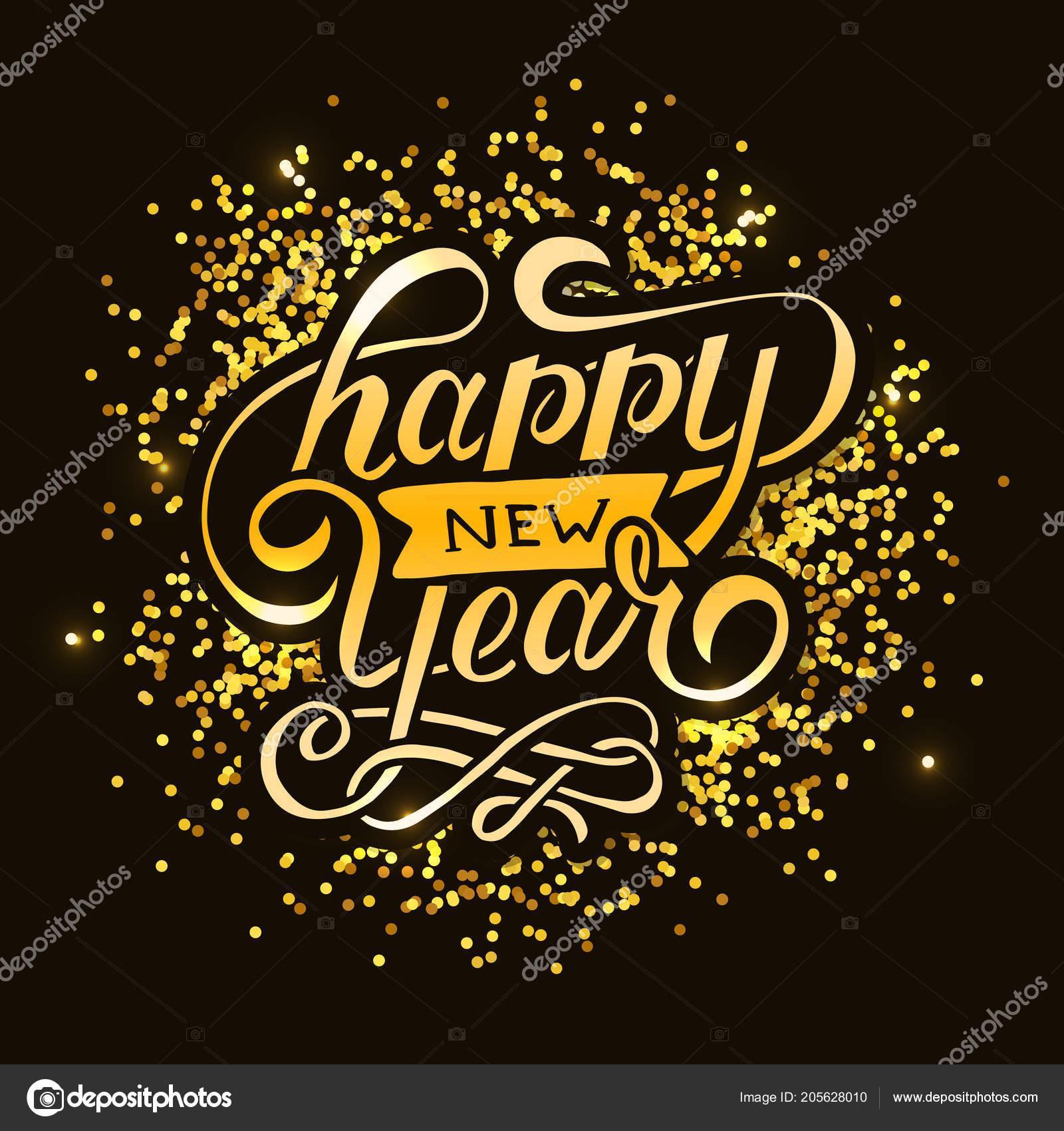 happy new year vector gradient phrase lettering calligraphy illustration sticker stock vector c lemonkey 205628010 https depositphotos com 205628010 stock illustration happy new year vector gradient html