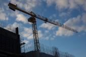 Velké stavební jeřáby zobrazení