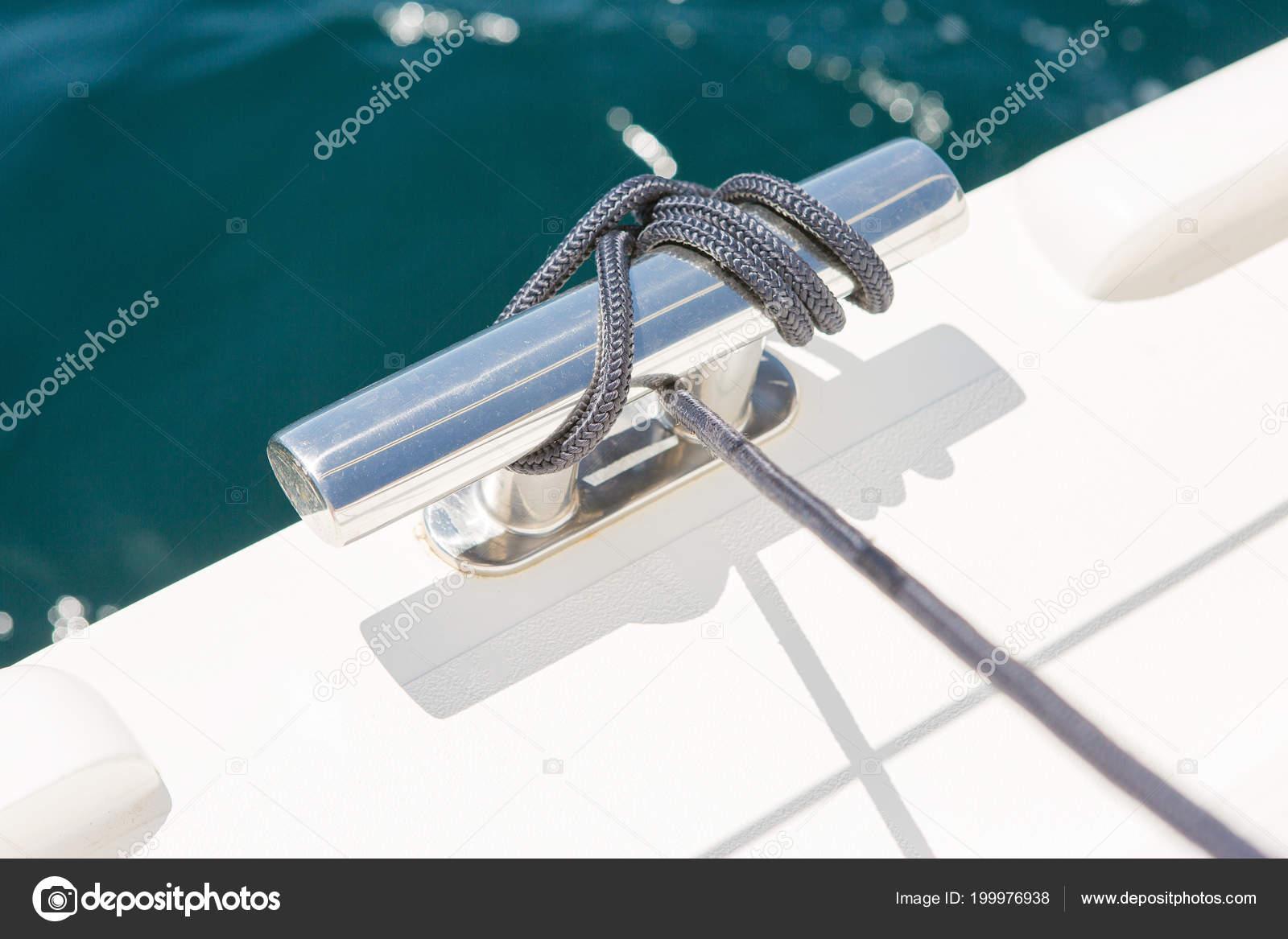 Yacht Parts Ropes Feed Summer Vacation Sea — Stock Photo