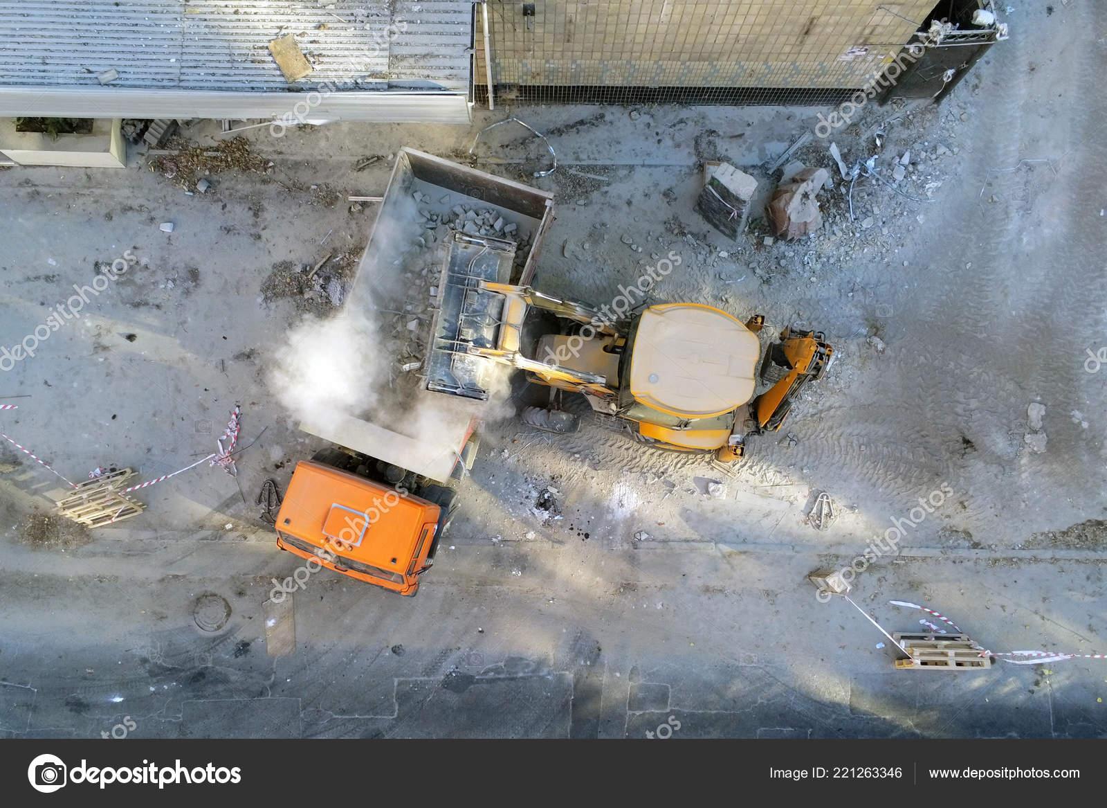 демонтажный строительство