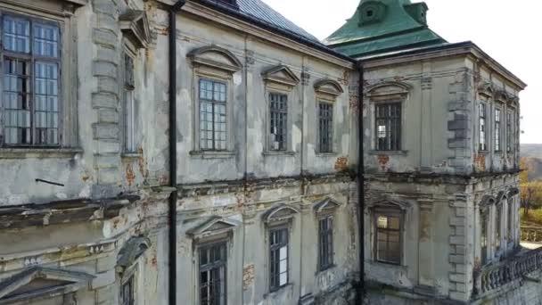 altes Pidhirtsi-Schloss. Ukrainisch. ein architektonisches Element einer alten Burg