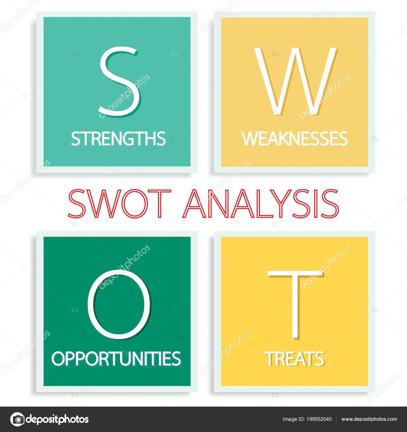 Business concepts swot analysis matrix structured planning method business concepts swot analysis matrix structured planning method evaluate strengths vetor de stock ccuart Image collections