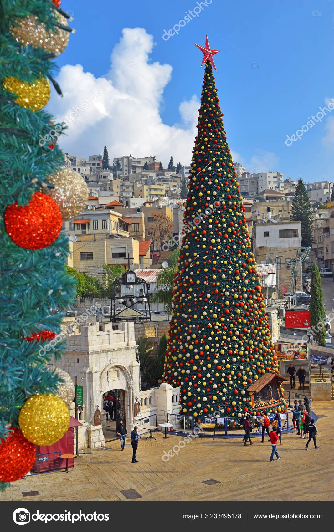 When Is Greek Orthodox Christmas.Nazareth Israel December People Celebrate Christmas Greek