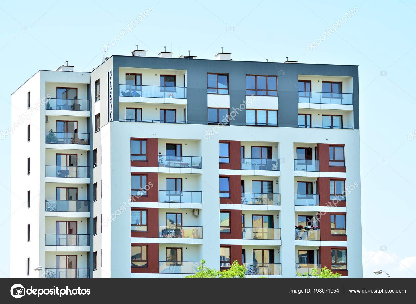 Modern Apartment Building Exterior — Stock Photo © grand ...