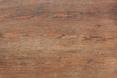 full frame image of empty brown wooden table