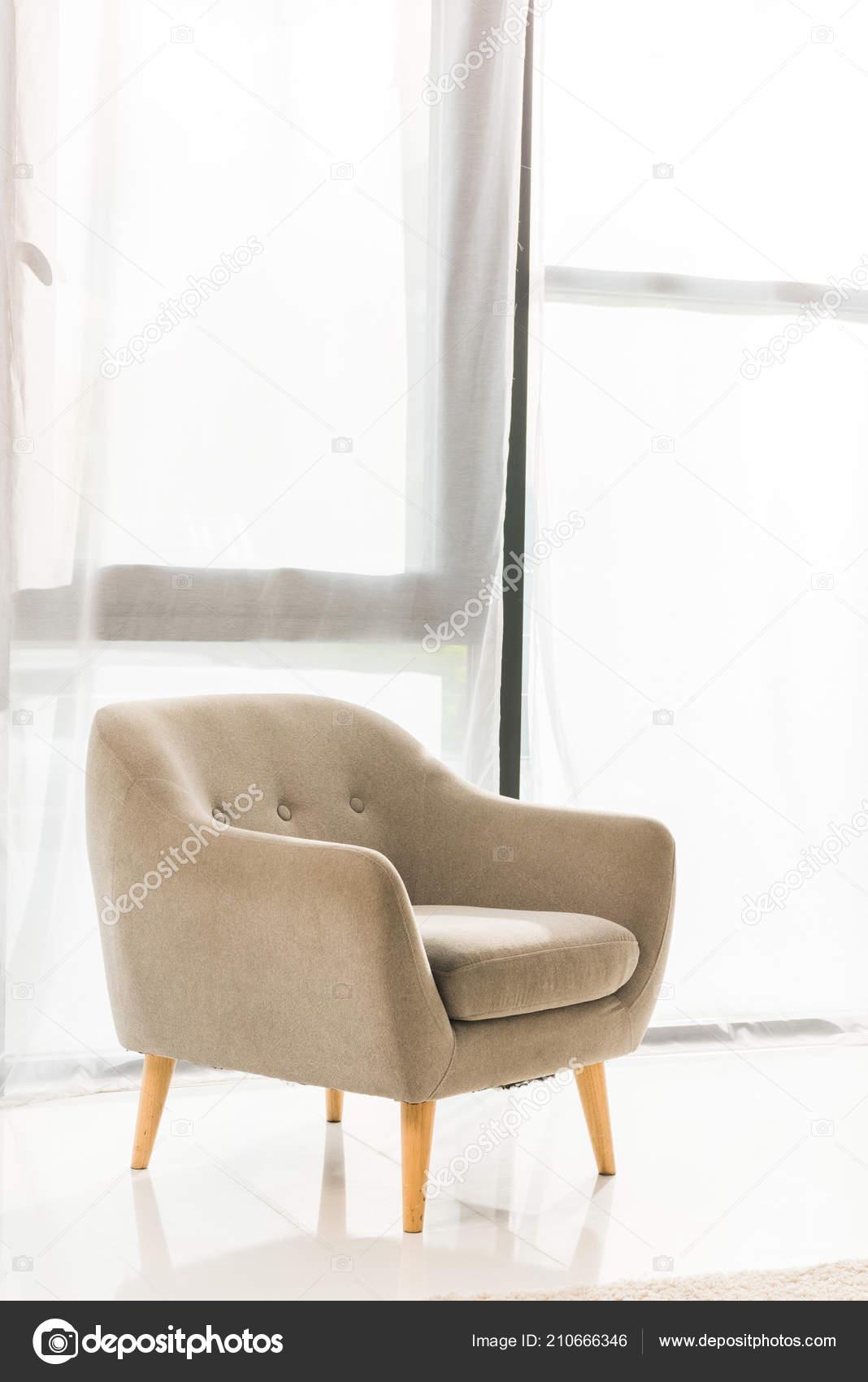 Fauteuil Salon Moderne Concept Minimaliste — Photographie ...