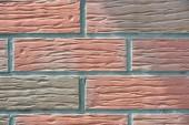 Fotografie Detailní pohled zvětralých cihel zeď texturou pozadí