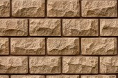 Fotografie full frame view of brown brick wall textured background