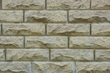 grey brick wall texture, full frame background