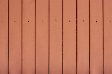 Red wooden planks texture, full frame background stock vector